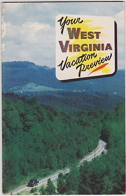 1950's West Virginia Vacations Promotional Booklet