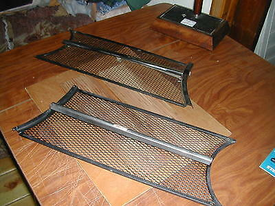 Alfa Romeo 105 Giulia Gt Jr Right And Left Grill Set Oe Nos