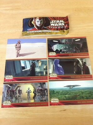 Star Wars Episode 1 Widevision Complete 80 Card Set NM/M Topps 1999