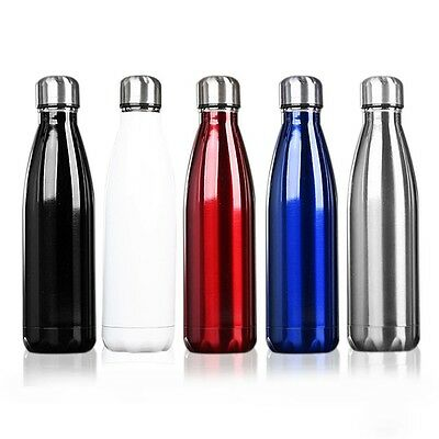 500ml Coffee Tea Bowling Insulated Stainless Steel Bottle Vacuum Flask Gift P5