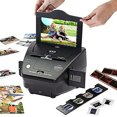 SVP Photo, Film and Slide Scanner PS9000 Converts Prints & Films to Digital