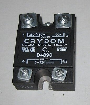 Crydom D4890 Solid State Relay in VGC