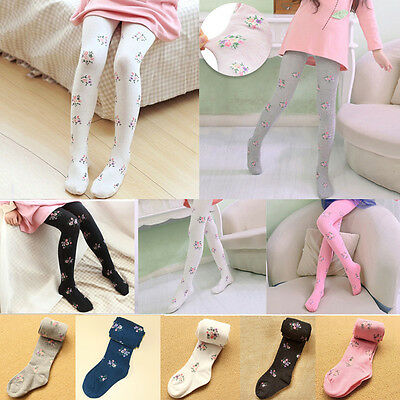 Toddler Kids Baby Girls Cotton Tights Socks Stockings Thermal Hosiery Pantyhose
