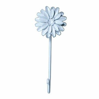 Flower Hook Wrought Iron White Zinnia | Renovators Supply