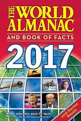 The World Almanac and Book of Facts 2017  by Sarah Janssen(Paperback)