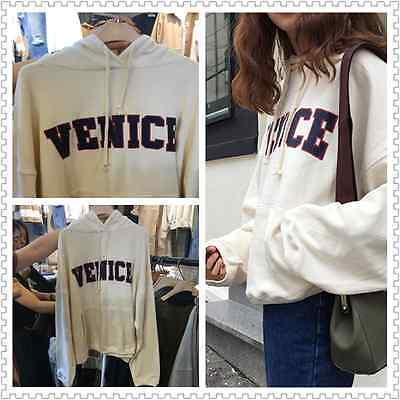 Fashion design LeisureLarge size loose was thin letters Printed hooded sweater03