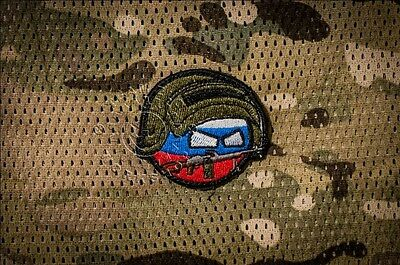 Russia Warrior PKM countryball flag morale patch