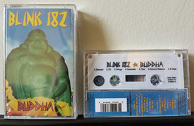 BLINK 182 - Buddha White Cassette Tape Pop Punk Rock DeLonge Hoppus Kung Fu /350