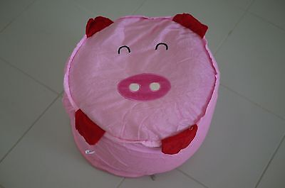 Wholesale Inflatable Kids Cushion Stool pig Seat portable Chair Toy Party gift