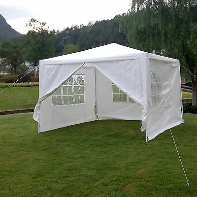 3Mx3M Waterproof Outdoor Garden Gazebo Marquee Awning Canopy Weeding Party Tent