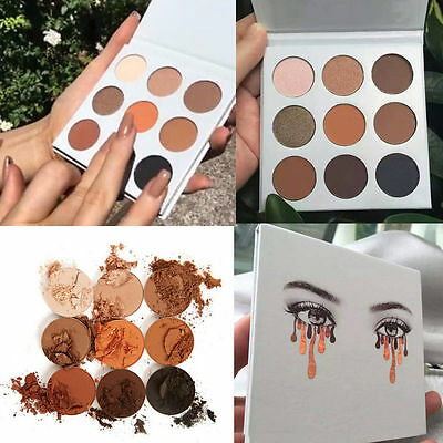 9 Colors Professional Matte Eyeshadow Palette Makeup Cosmetic Kit For Women