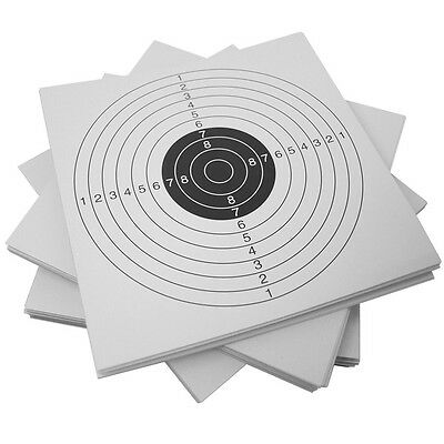 Gorilla GT-CARDS 100 Pack of Target Cards for Air Rifle Pistol Shooting Practice