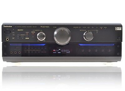 Technics SA-AX7 Dolby Surround AV-Receiver mit Bi-Amping