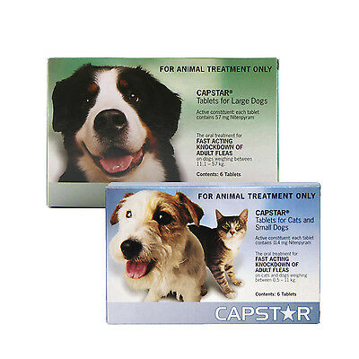 Capstar Flea Tablets for Dogs & Cats - Oral Flea Treatment