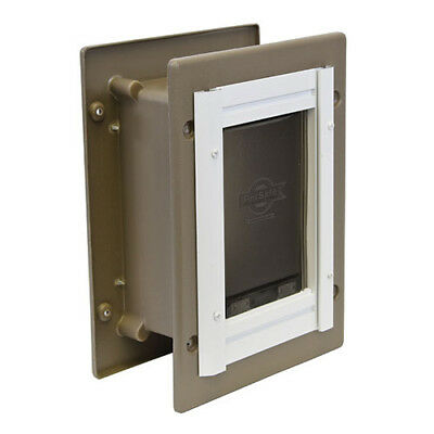 PetSafe PPA11-10916 Wall Entry Aluminum Pet Door