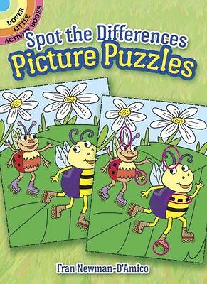 Dover 78182-2 Spot The Differences Picture Puzzles - New, Sealed