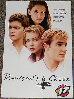 DAWSON'S CREEK TV SHOW 1990's ORIGINAL 13x20 PROMOTIONAL POSTER! KATIE HOLMES!