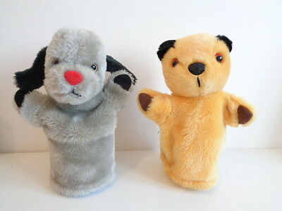 "Sooty And Sweep - 9"" Soft Plush Hand Puppets"