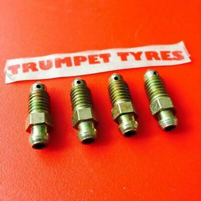 4 x M7 X 1.0mm Motorcycle Car Brake Bleeder Nipple Caliper Bleed Screws 31205