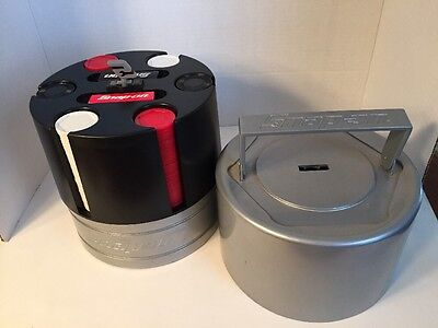 Snap-On Poker Chip Game Caddy Set Case Crown Premium Limited Editions