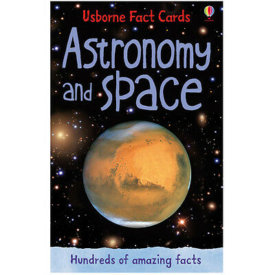 Usborne Astronomy and Space Fact Cards - Children's Dinosaur Quiz Card Pack