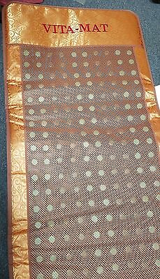 Vita-Mat Full Body Infrared Heat Therapy Mat with Controller Works Great!