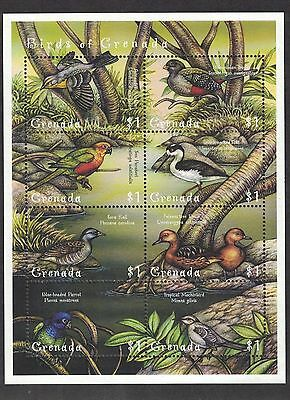 Grenada 2910 -  Birds of Grenada. Sheet Of 8. MNH OG.   #02 GREN2910