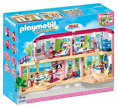 Playmobil 5265 Large Furnished Hotel BRAND NEW & FREE DELIVERY
