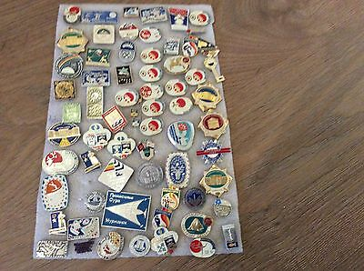 Collection of Soviet Pin Badges USSR  LOT 7