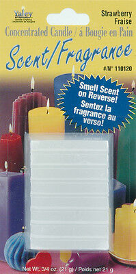 Concentrated Candle Scent 3/4 Ounce Blocks-Strawberry 052124100296