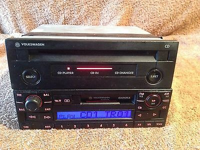 Vw Golfmk4  Single Disc Cd Player And Radio Cassette Player