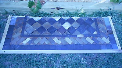 antique hearth fireplace tile 1898