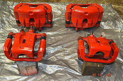 Mazda Rx8 Set Of 4 Brake Calipers And Carriers Front And Rear