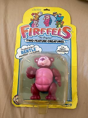 Vintage Toys 80's Firffels Carded Remco Bertle 1985