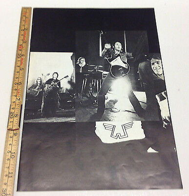 Poul McCartney The Beatles Wings Over Europe Concert Program Tour Book from 1972