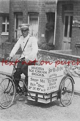 RP REPRO # ice cream seller on bicycle #2