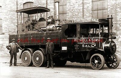 RP REPRO # bethell steam lorry sale