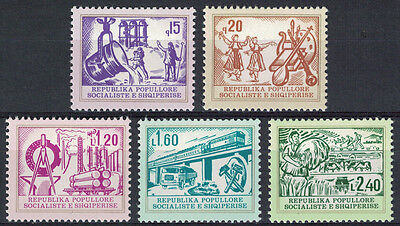 Albania 1978 _ Industry and Culture _ Full Set - MNH**