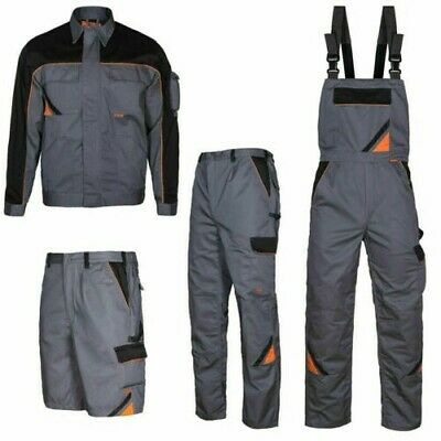Workwear Work Trousers Overalls Work Jacket Professional Clothing Grey
