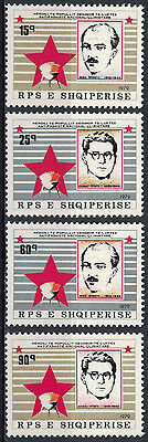 Albania 1979 _ Freedom Fighters - People Heroes_ Full Set - MNH**