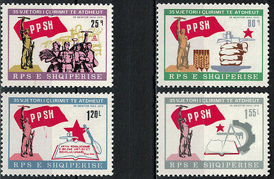 Albania 1979 _ The 35th Anniversary of Liberation _ Full Set - MNH**
