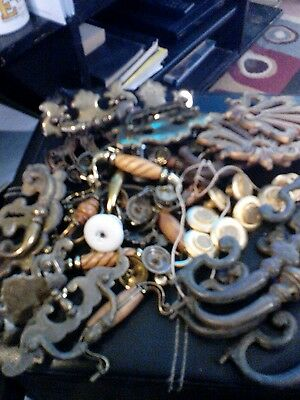 Assorted Lot Of Handels And Knobs Used Condition