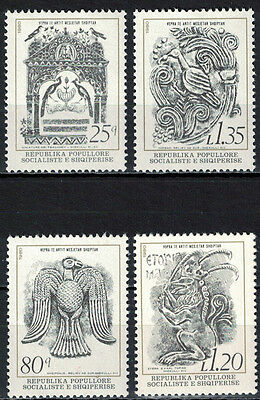 Albania 1980 _ Art Treasures of the Middle Age _ Full Set - MNH**