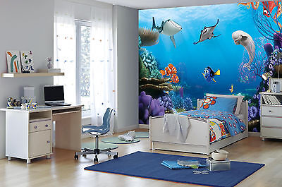 368x254cm Giant wall mural photo wallpaper Finding Dory Disney Children's room