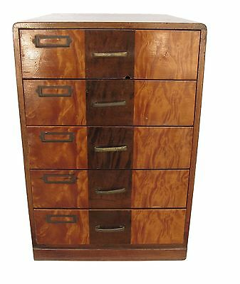 Vintage Japanese Ko Tansu Small Chest Cabinet Furniture with Drawers