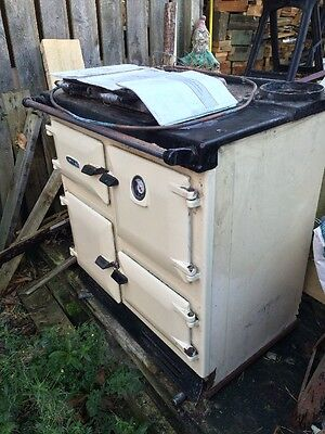 Oil Fired Rayburn In Cream  price reduced