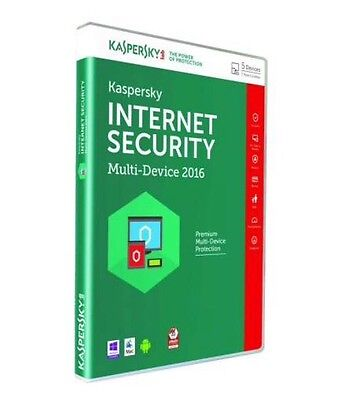 Kaspersky Internet Security 5pc/1an