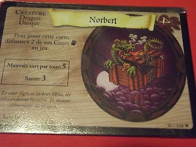 Harry Potter Trading Card Game   Neuves **  Norbert   30/116  **