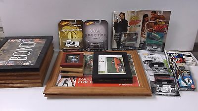 Huge Assortment of James Bond 007 Pictures, Playing Cards and Cars!