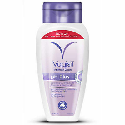 Vagisil Feminine Hygiene Intimate Wash Healthy Ph Plus Aloe Vera Cranberry 240Ml